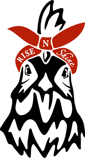 Rise N Shine Rooster Logo