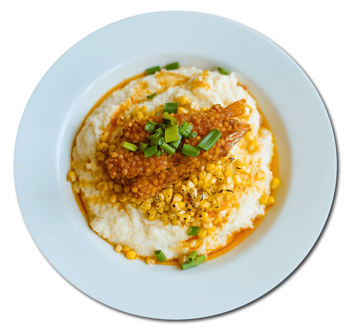 Fried Shrimp and Grits Image