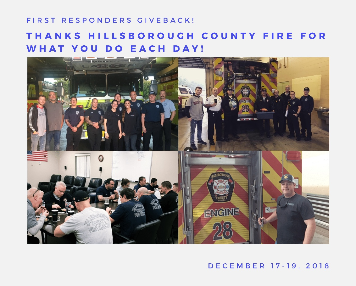 First Responders Giveback