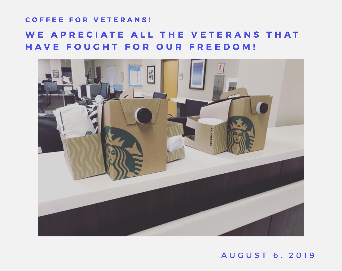 Coffee for Veterans