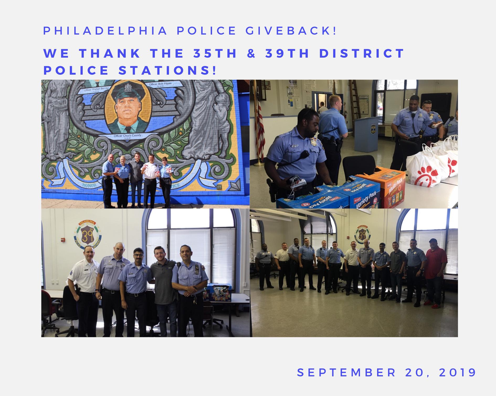Philadelphia Police Giveback