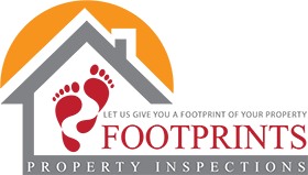 Footprints Property Inspections Logo