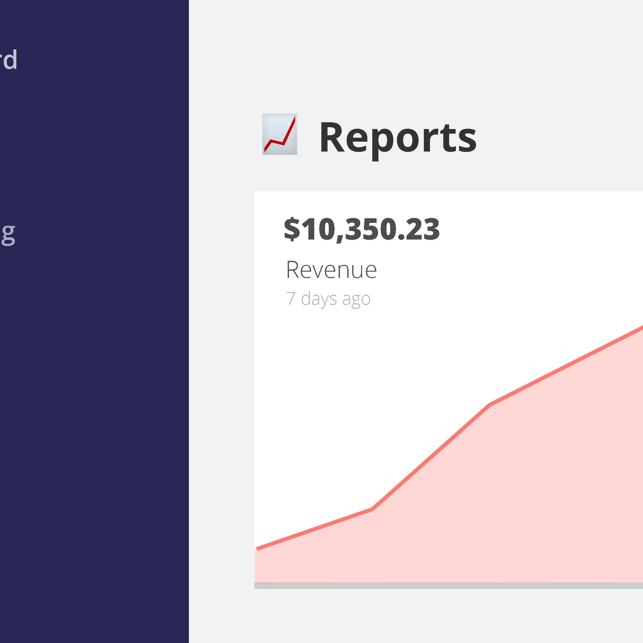 analytics features: reports