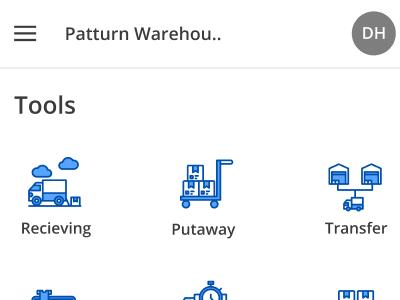 Patturn warehouse tools