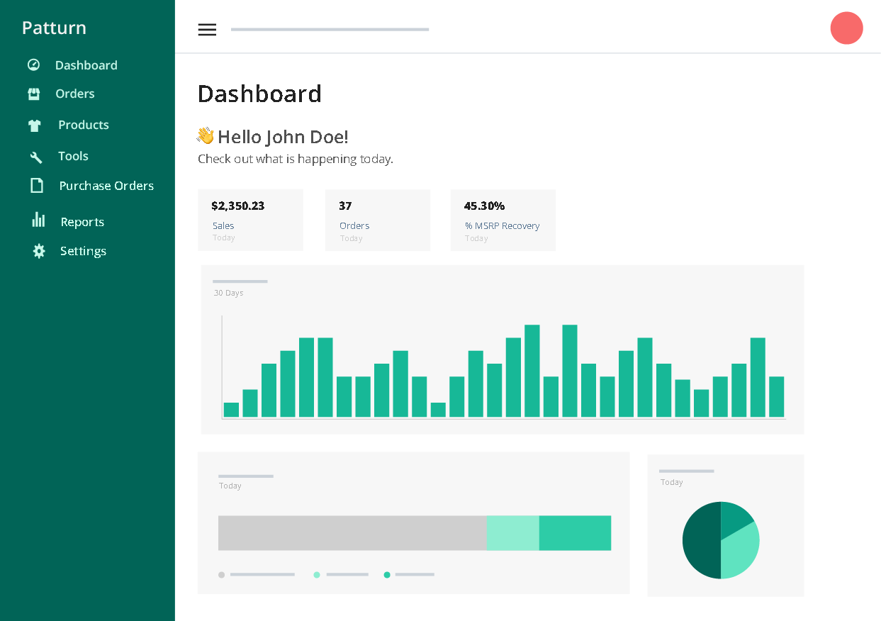 Patturn's Returns Management Dashboard