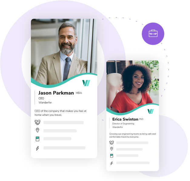 Set up your entire team or business with enterprise digital business cards from HiHello.