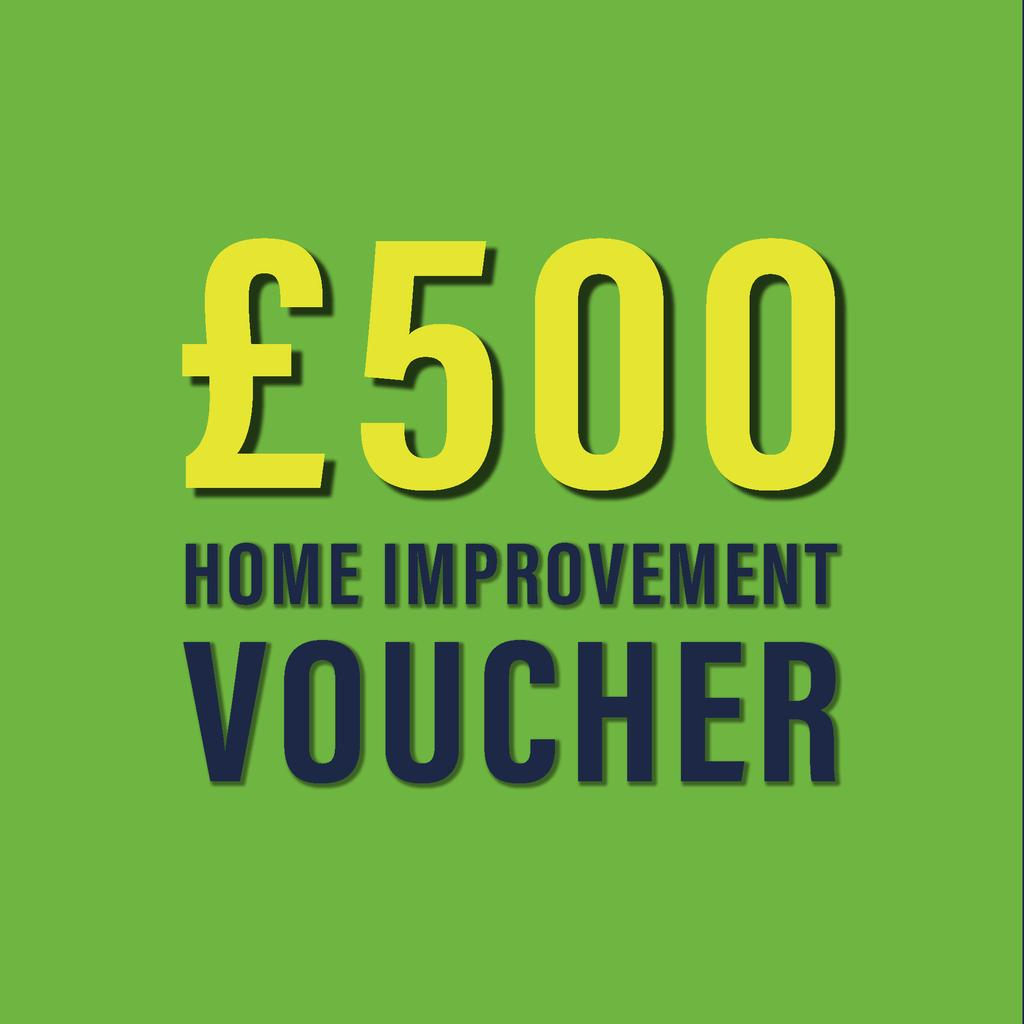 £500 home improvement voucher image