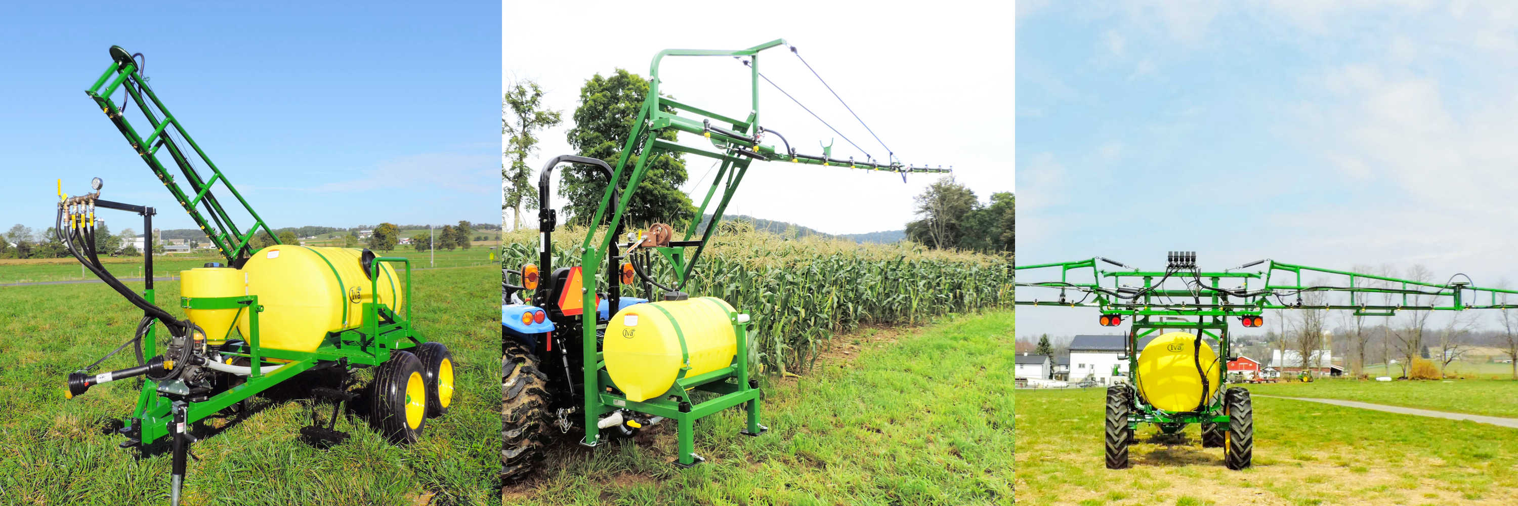 Iva Mfg builds produces sprayers for vegetable growers.