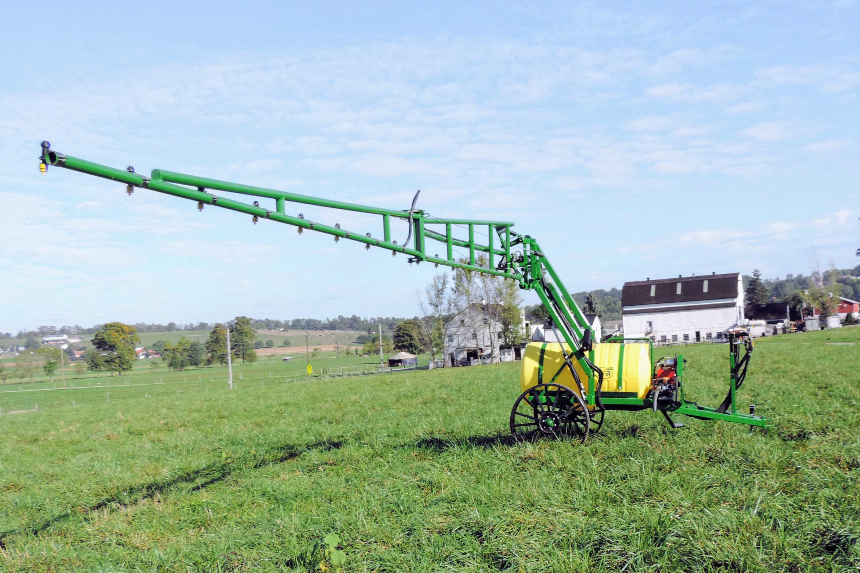 200 gallon trailer produce sprayer
