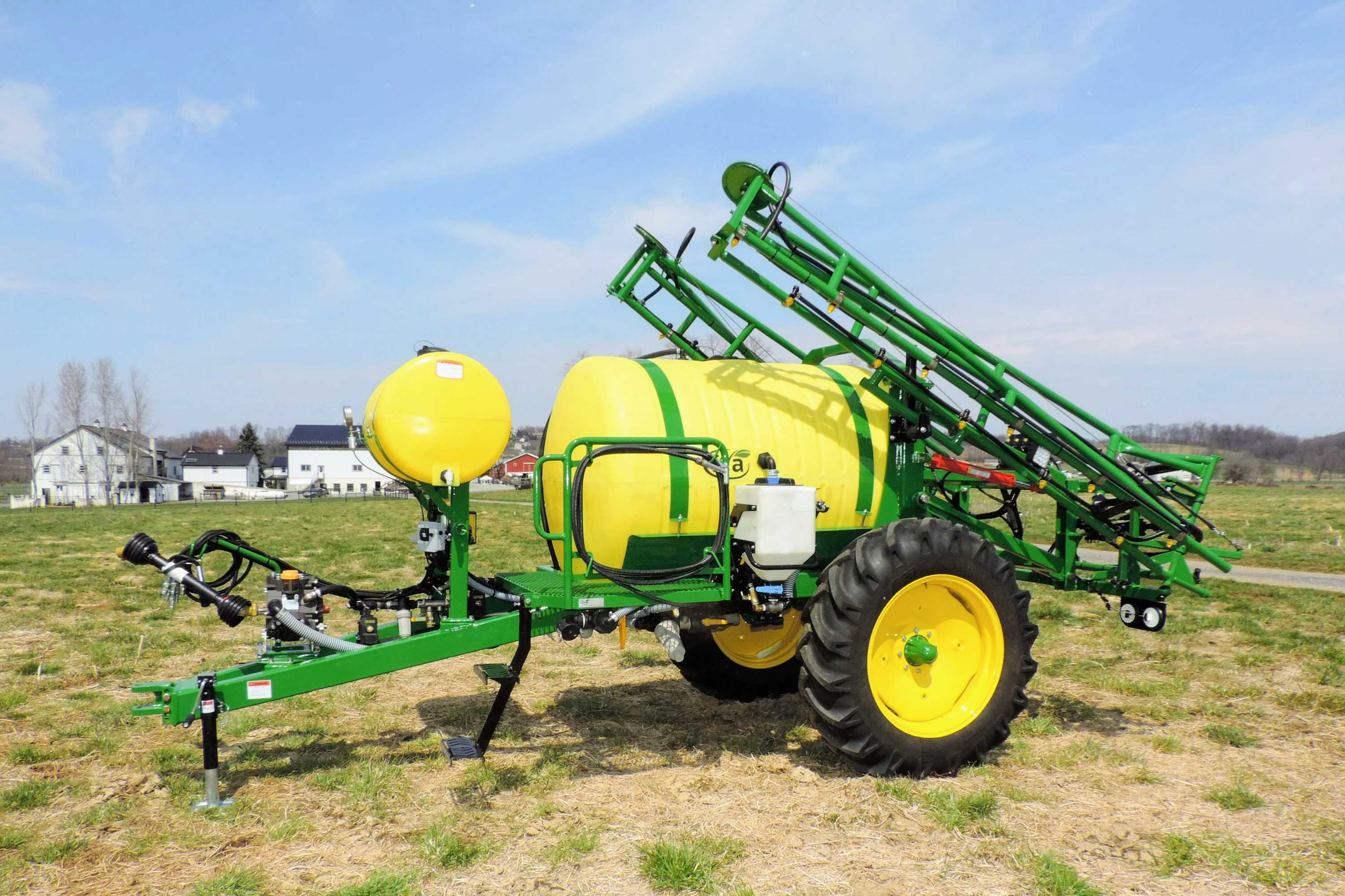 500 gallon Trailer Produce Sprayer