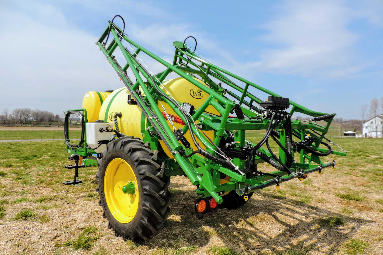 500 gallon trailer sweet corn sprayer with 45' boom