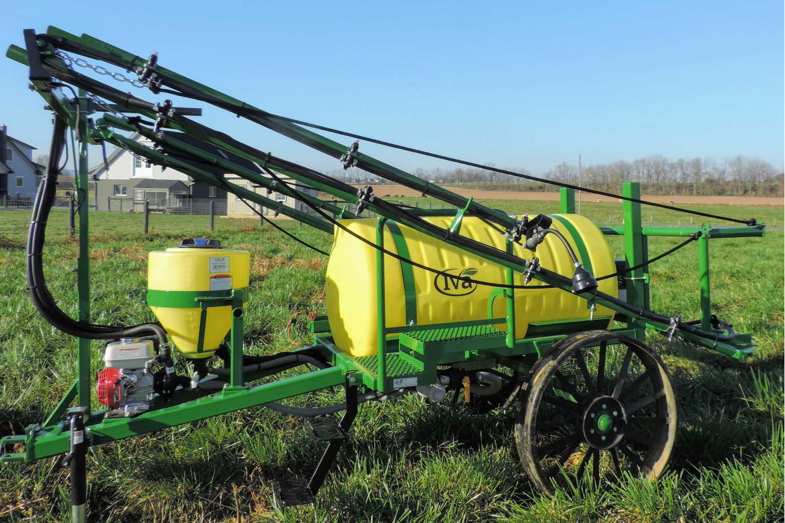 Horse-drawn Trailer Sprayers