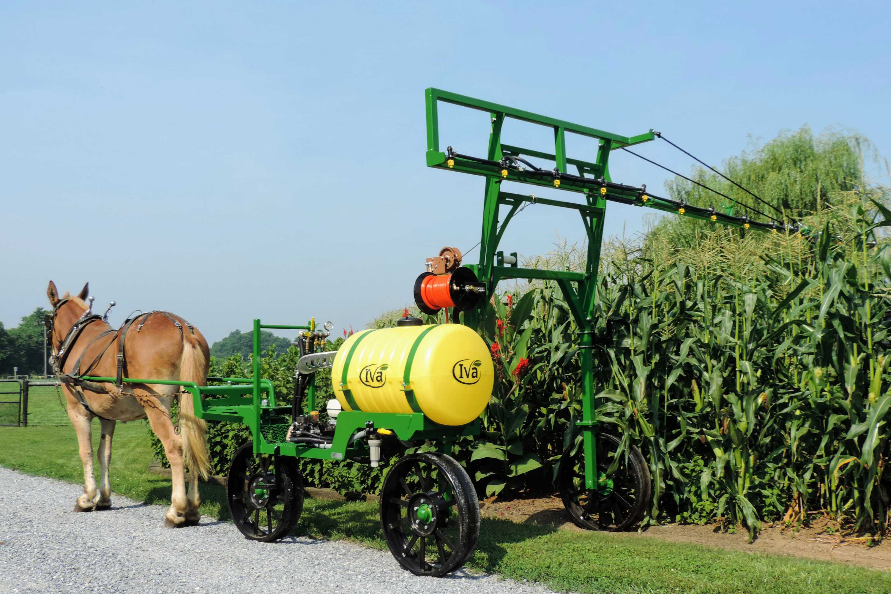 Single-horse Produce Sprayer