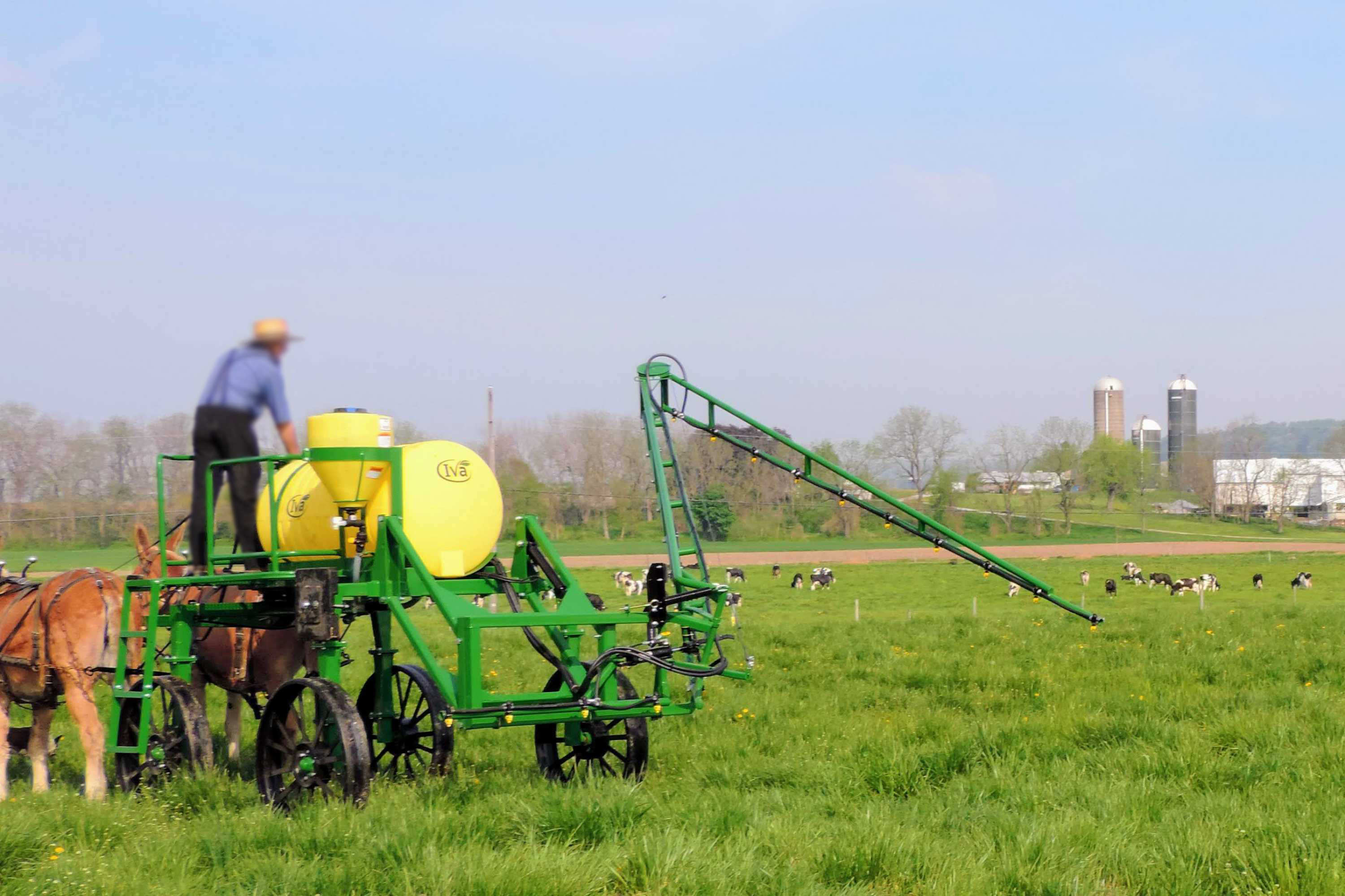 High Clearance Horse-drawn Sprayer
