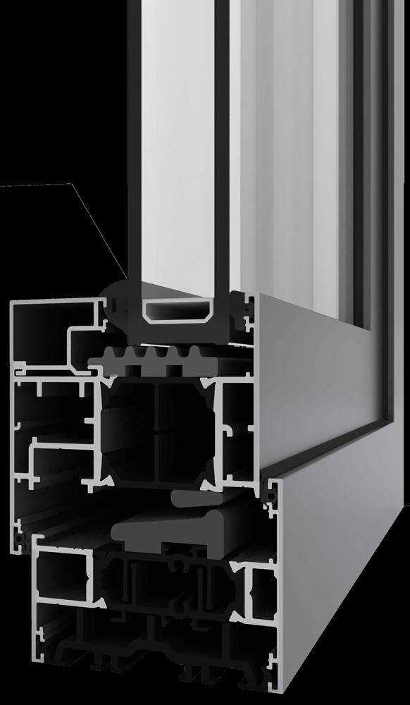 58BW Flush Window render