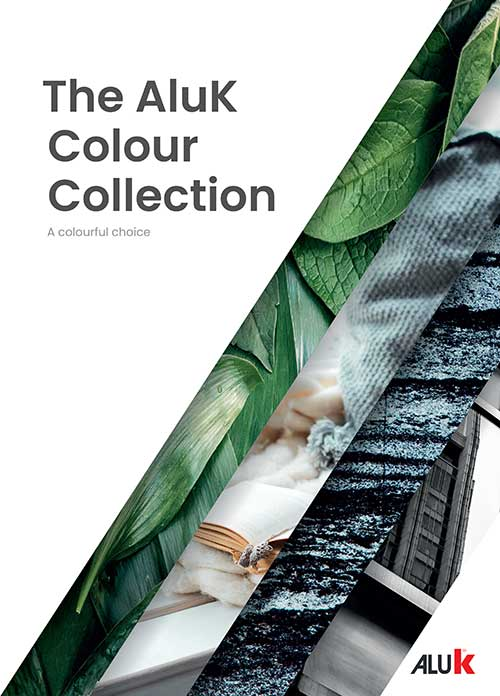 Brochure cover - The AluK Colour Collection