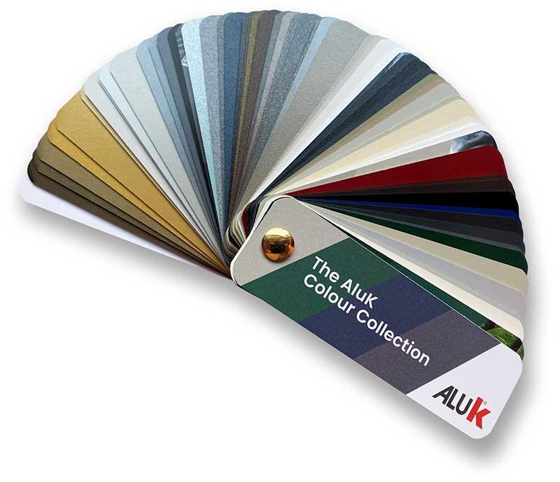 Colour guide fan deck
