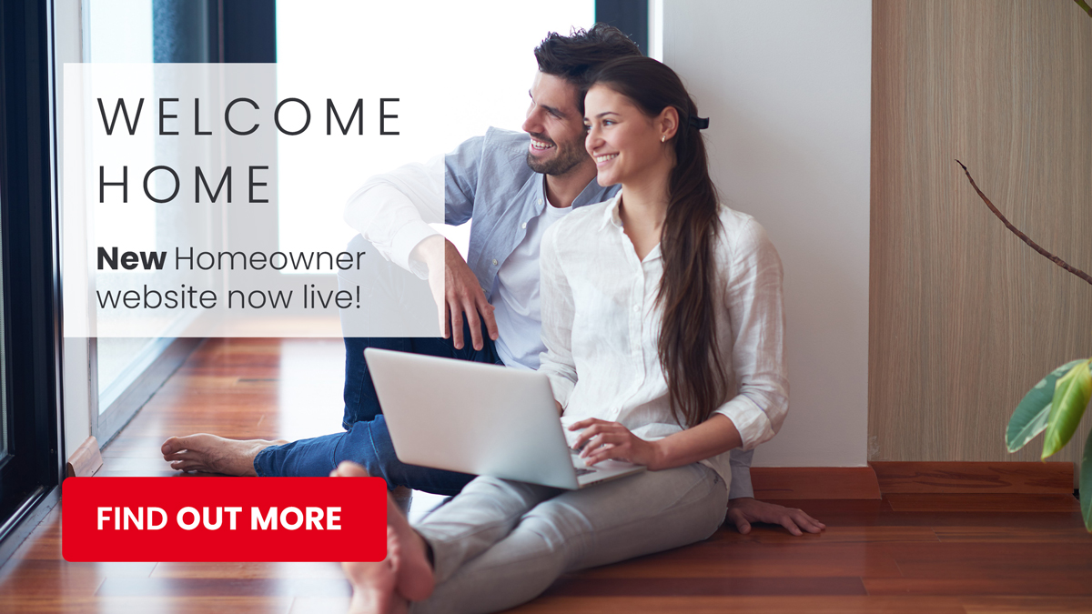 Welcome Home - New home owner website now live!