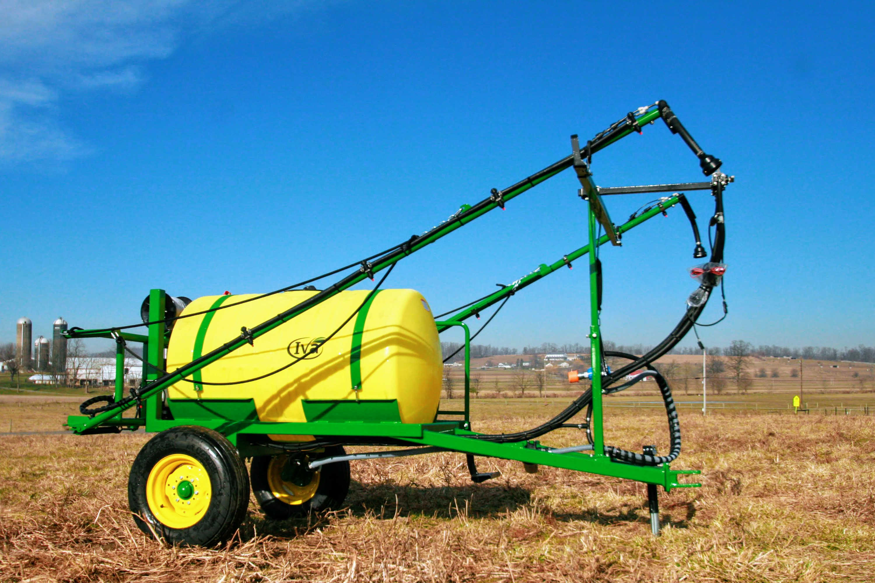 300 gallon Trailer Field Sprayer with 30' booms