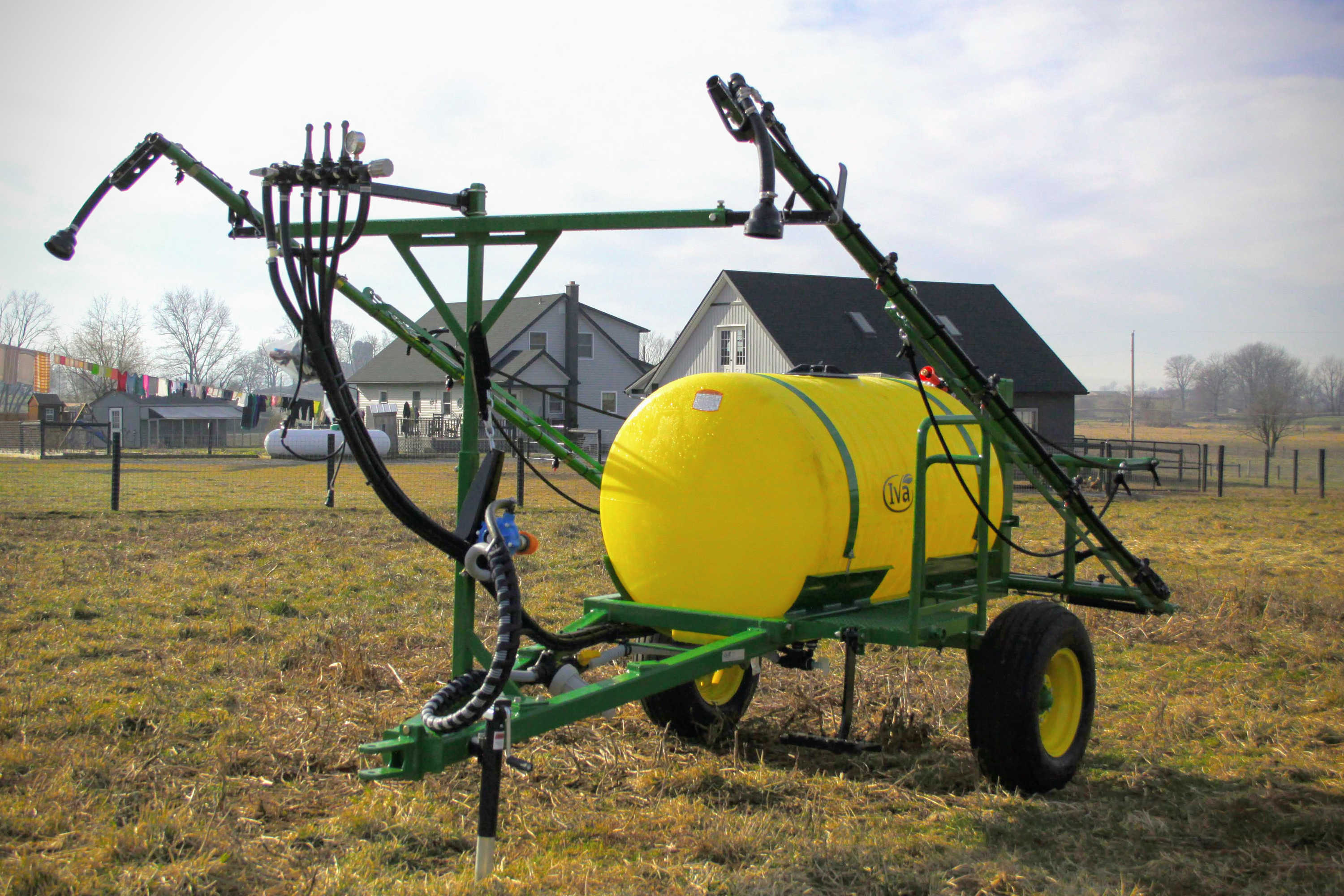 300 gallon Crop Sprayer with manual-fold 30' booms
