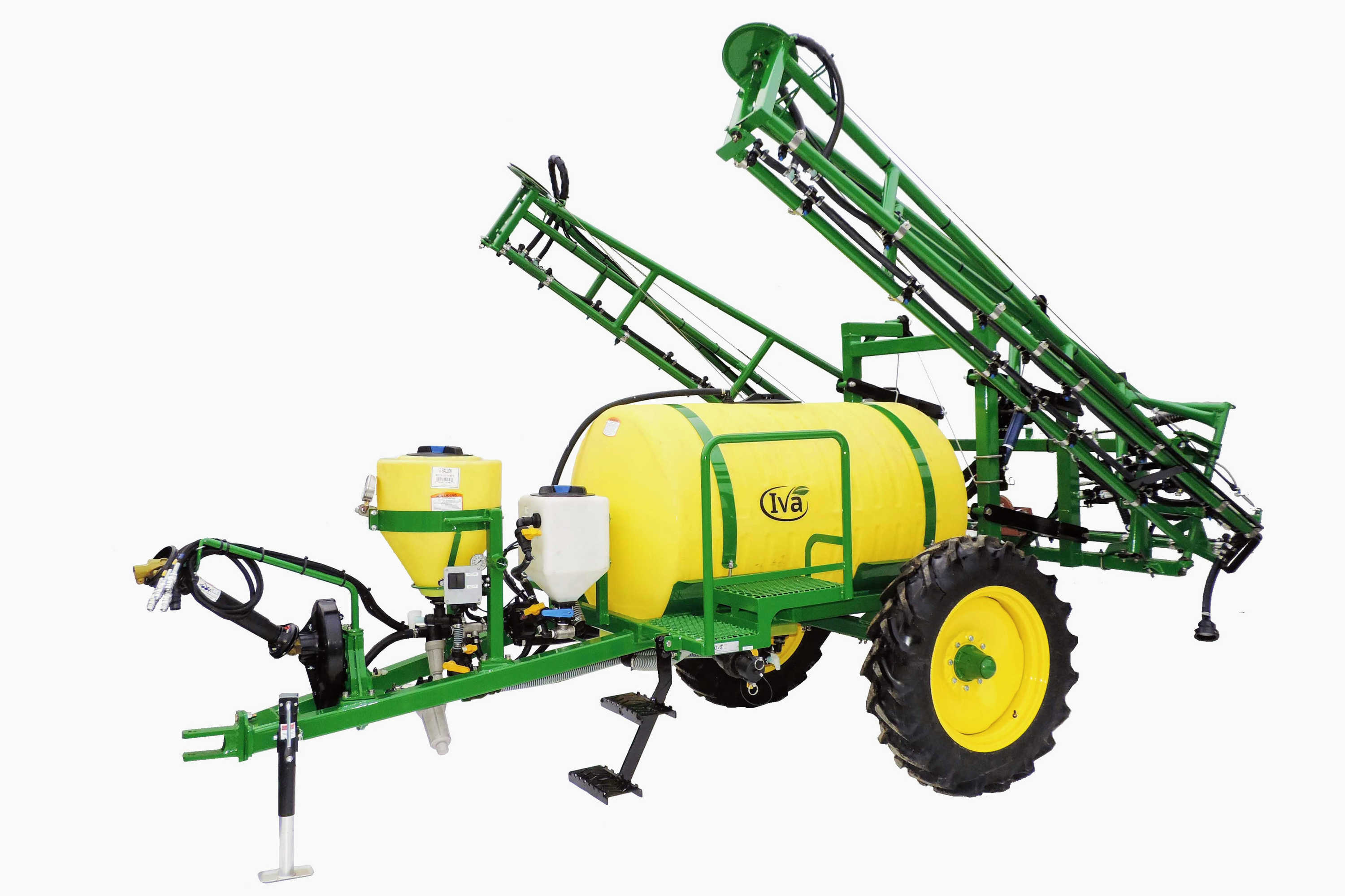 300-gallon Trailer Field Sprayer with 45' Hydraulic-fold Booms