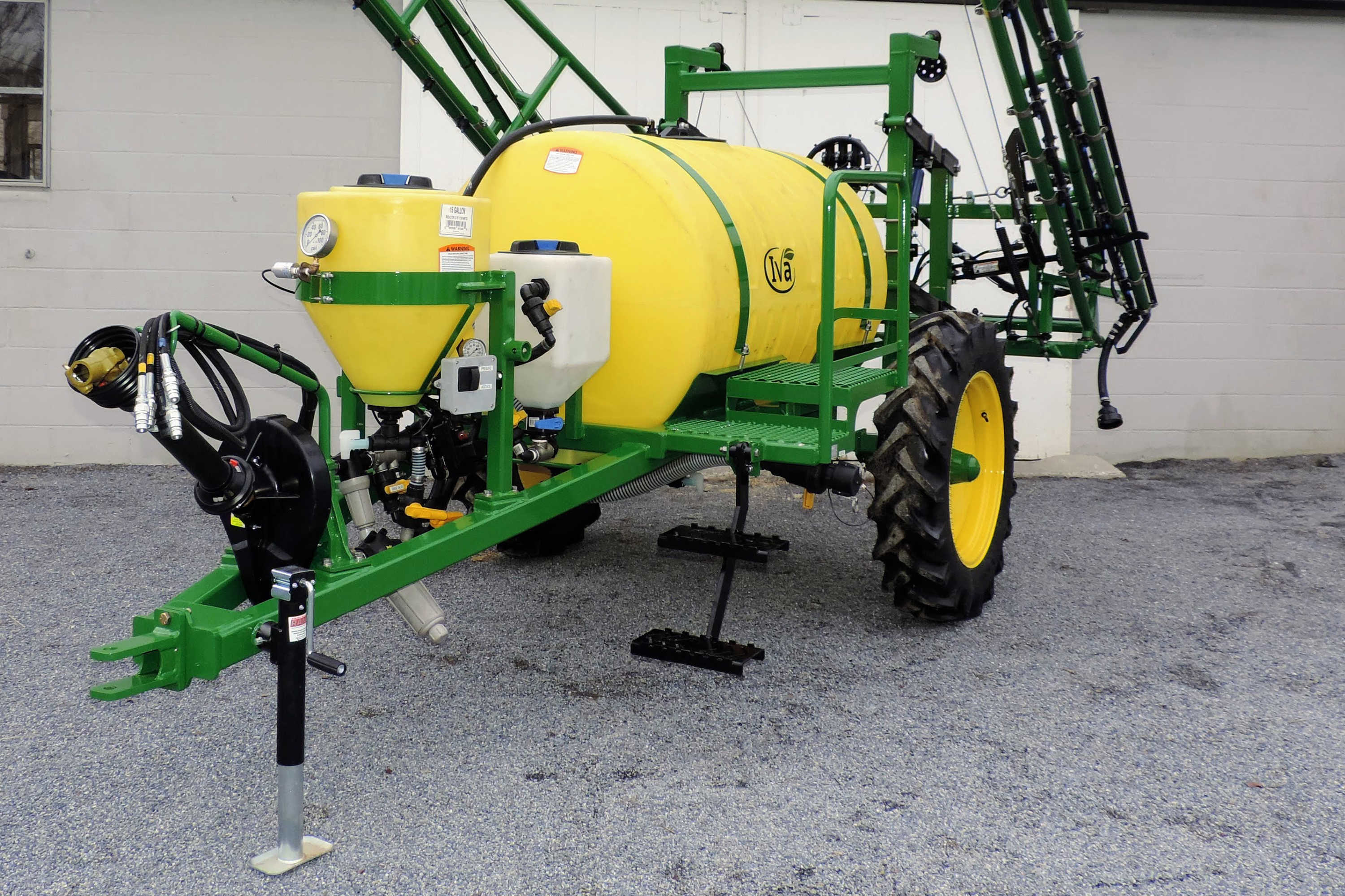 300-gallon Field Sprayer with PTO pump and rinse tank