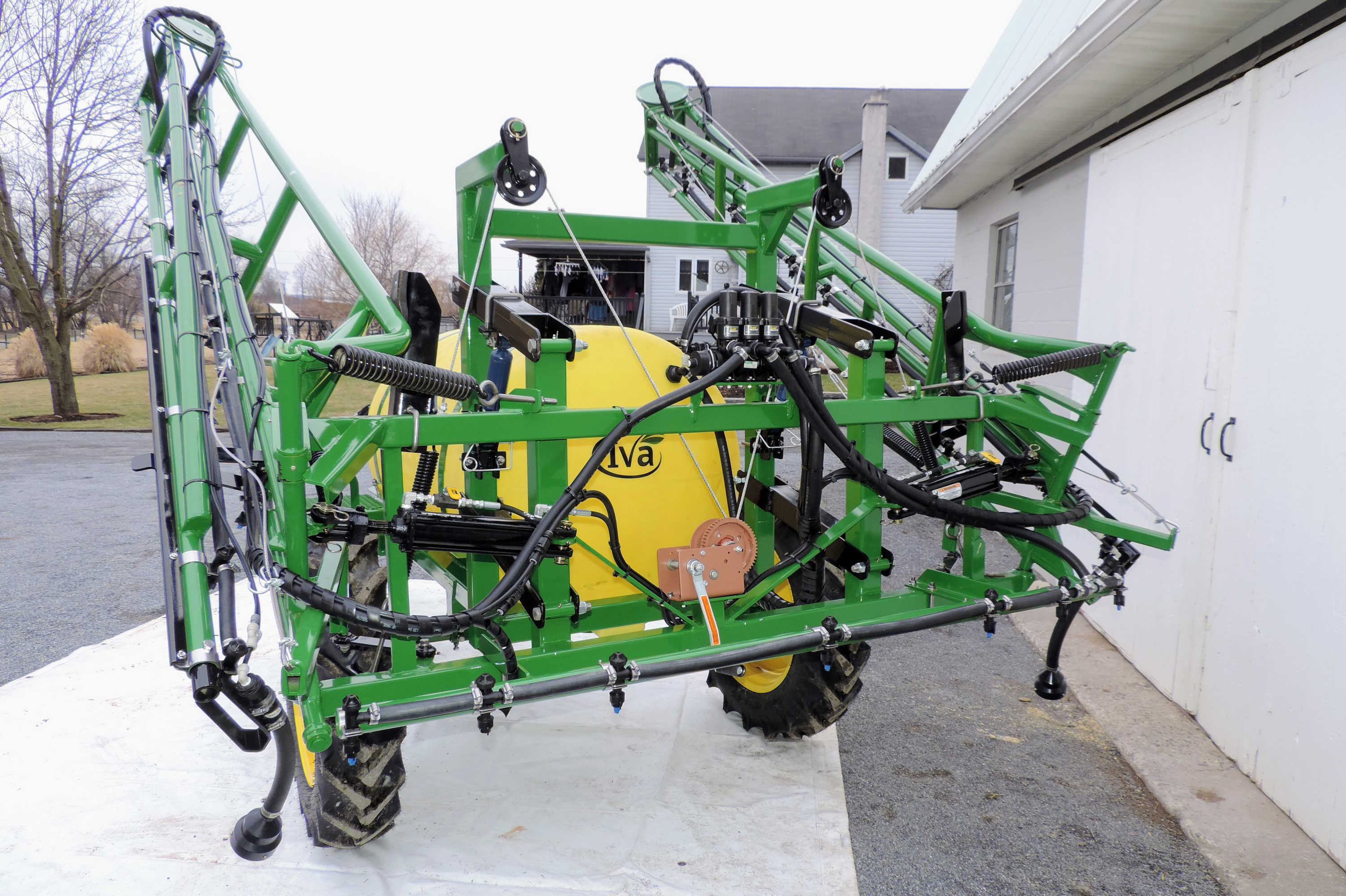 300-gallon Crop Sprayer with 45' Hydraulic-fold Booms