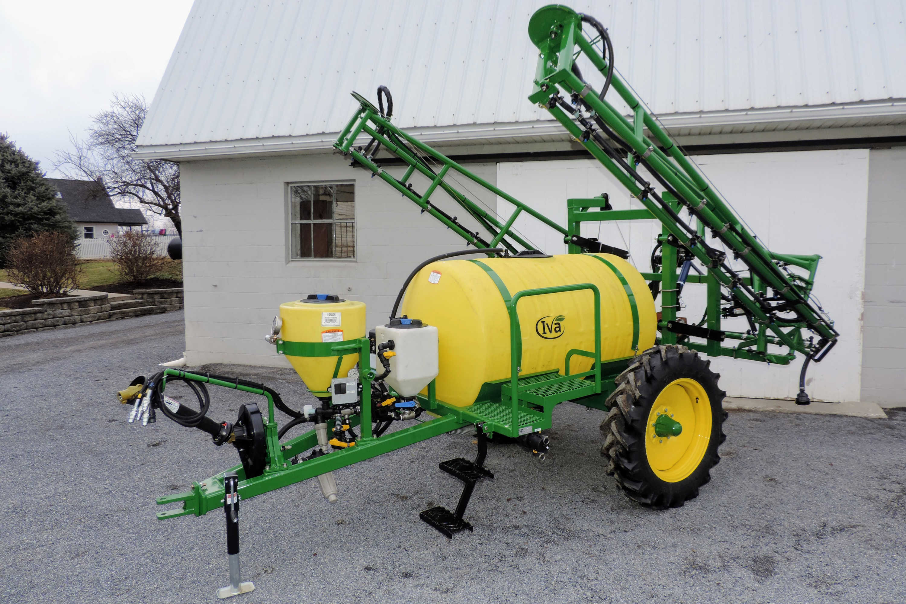 300-gallon Pull Type Sprayer with 45' Hydraulic-fold Booms