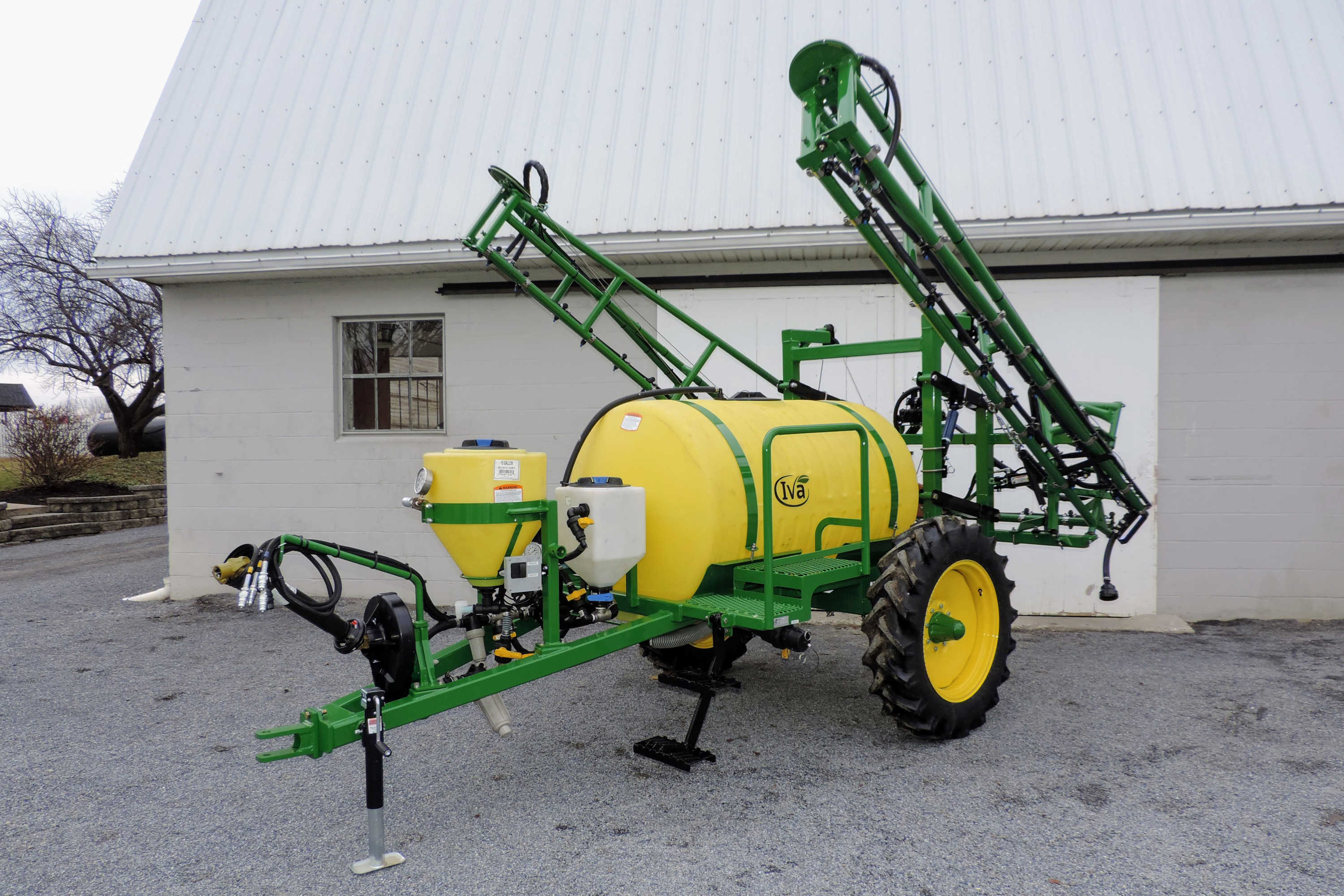 300-gallon Pull Type Crop Sprayer with 45' Hydraulic-fold Booms