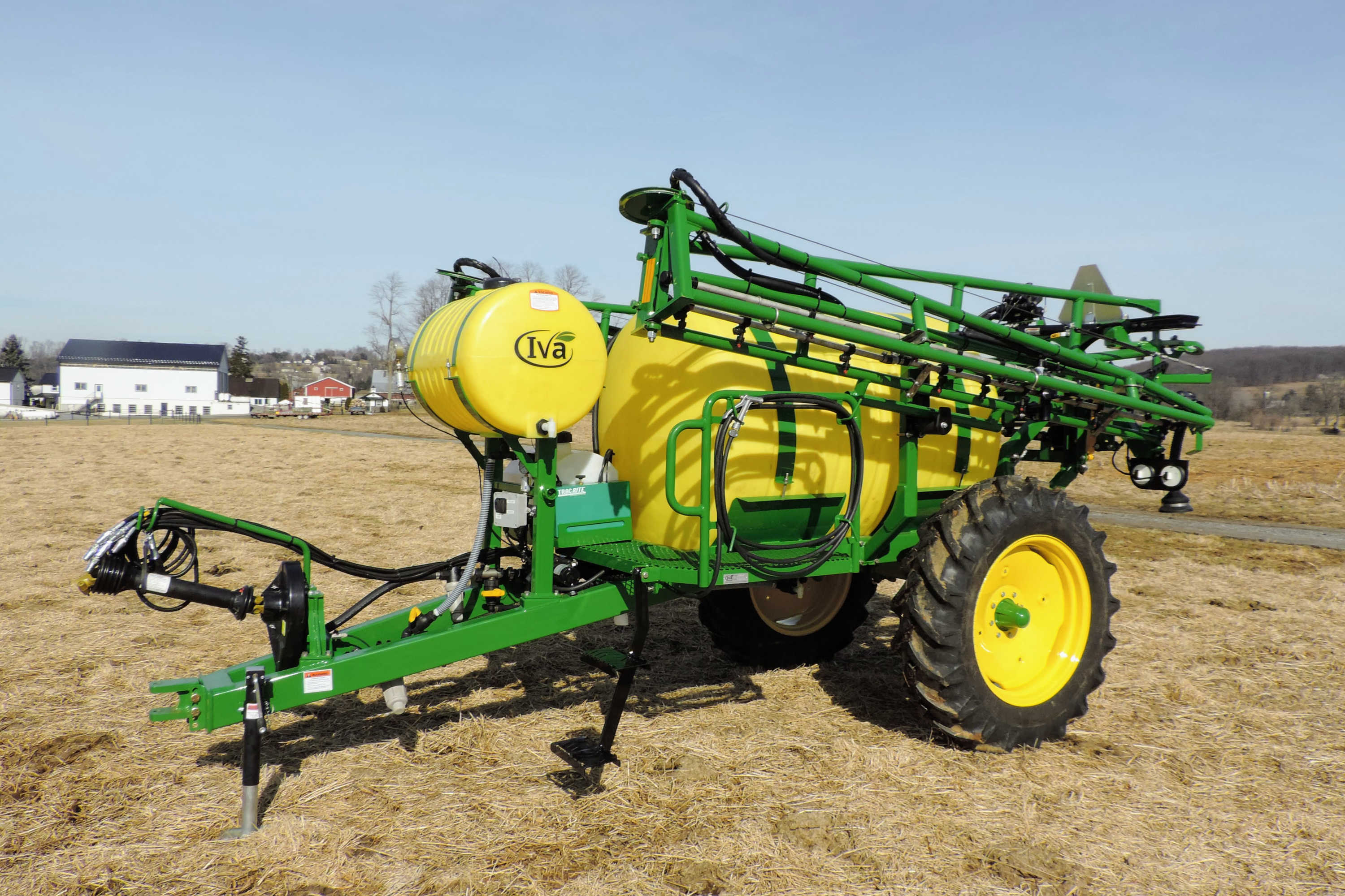500 gallon Field Sprayer with 60' AirRide Booms