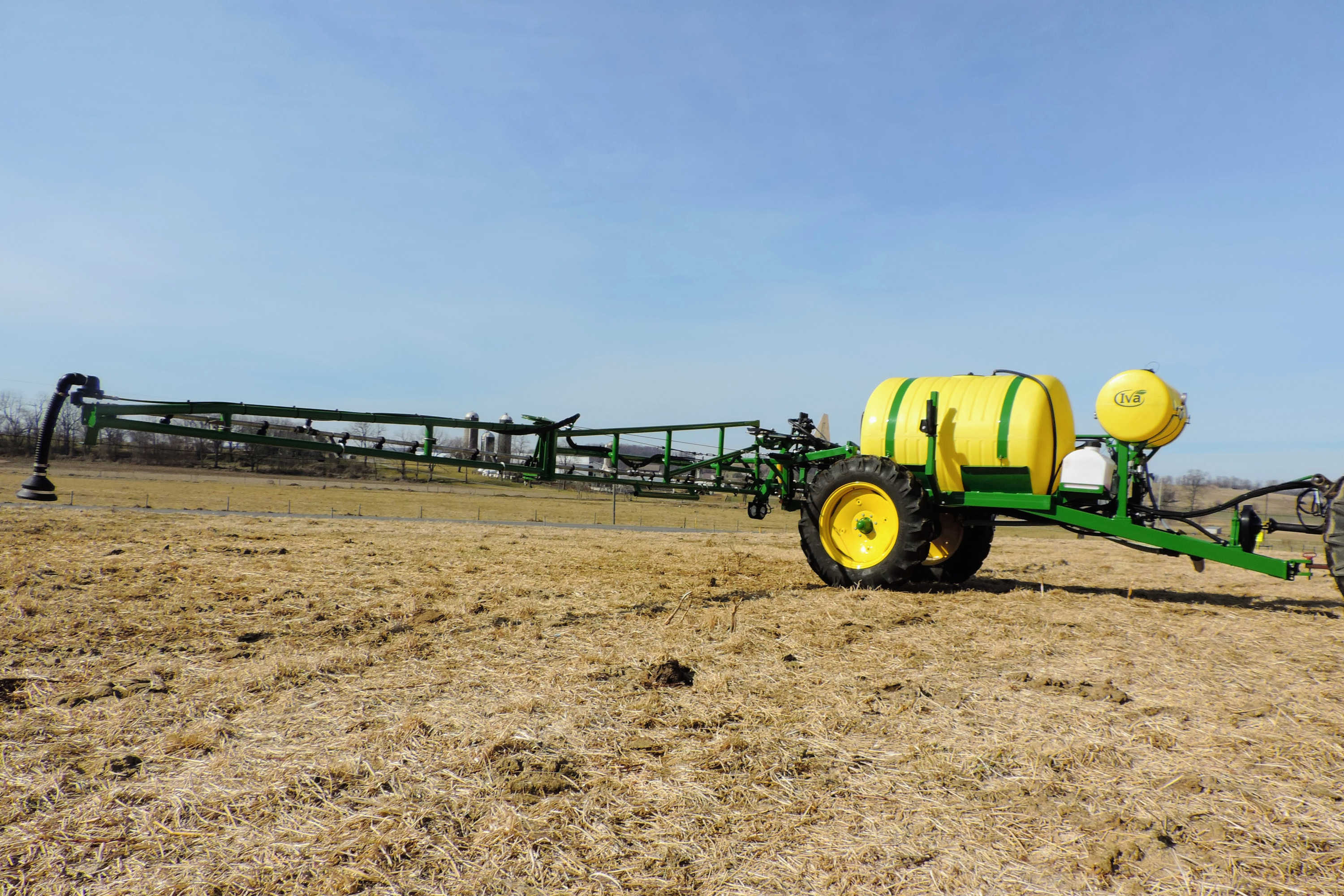 500 gallon Ag Sprayer with with 60' AirRide Booms