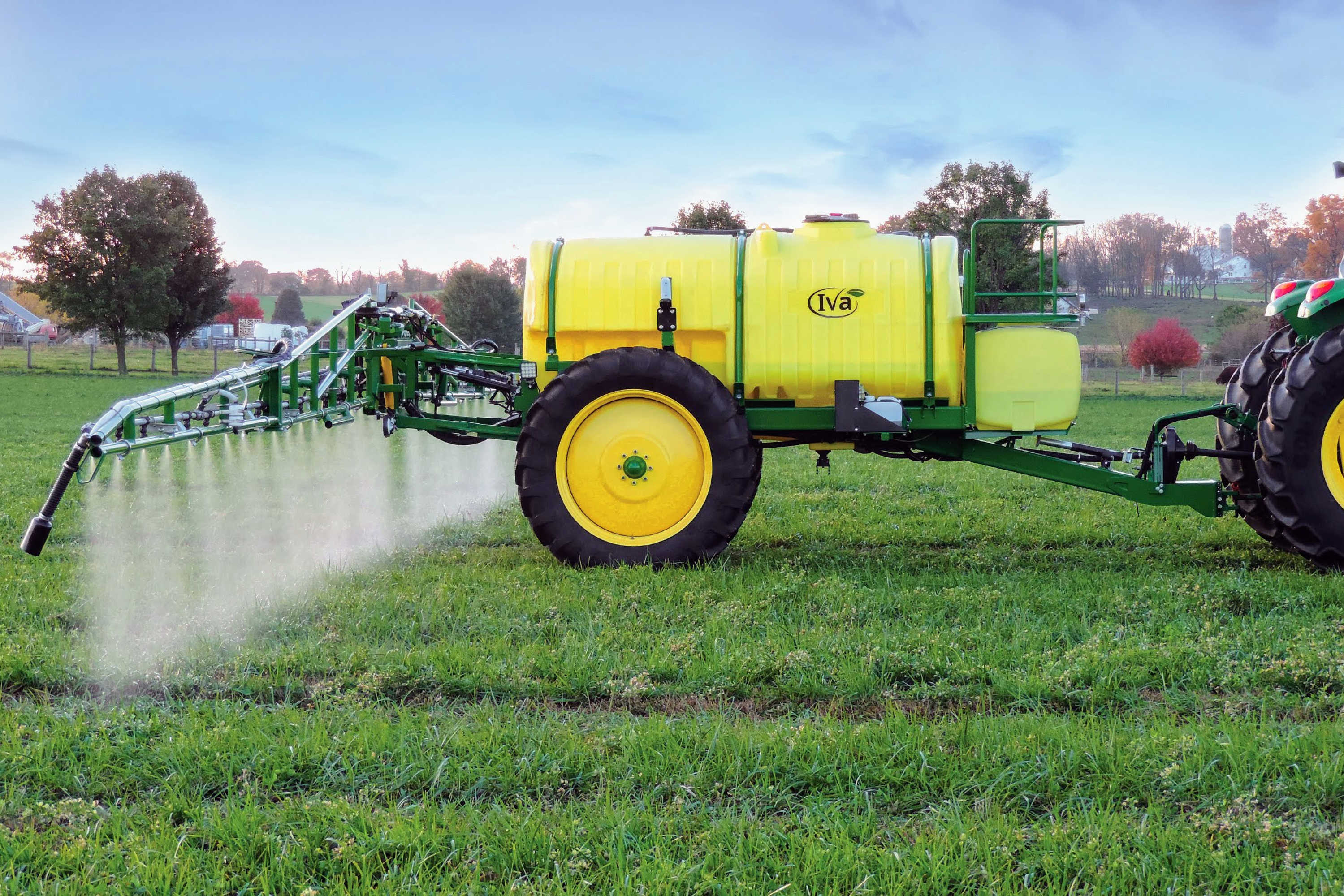 1000 gallon Field Sprayer with 60' AirRide Booms