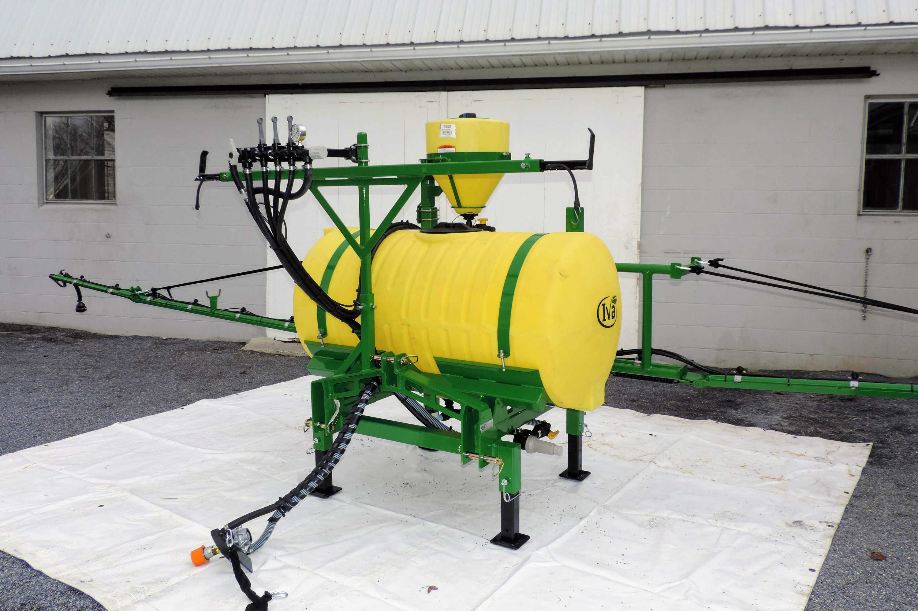 150 gallon 3-point Hitch Sprayer with PTO pump