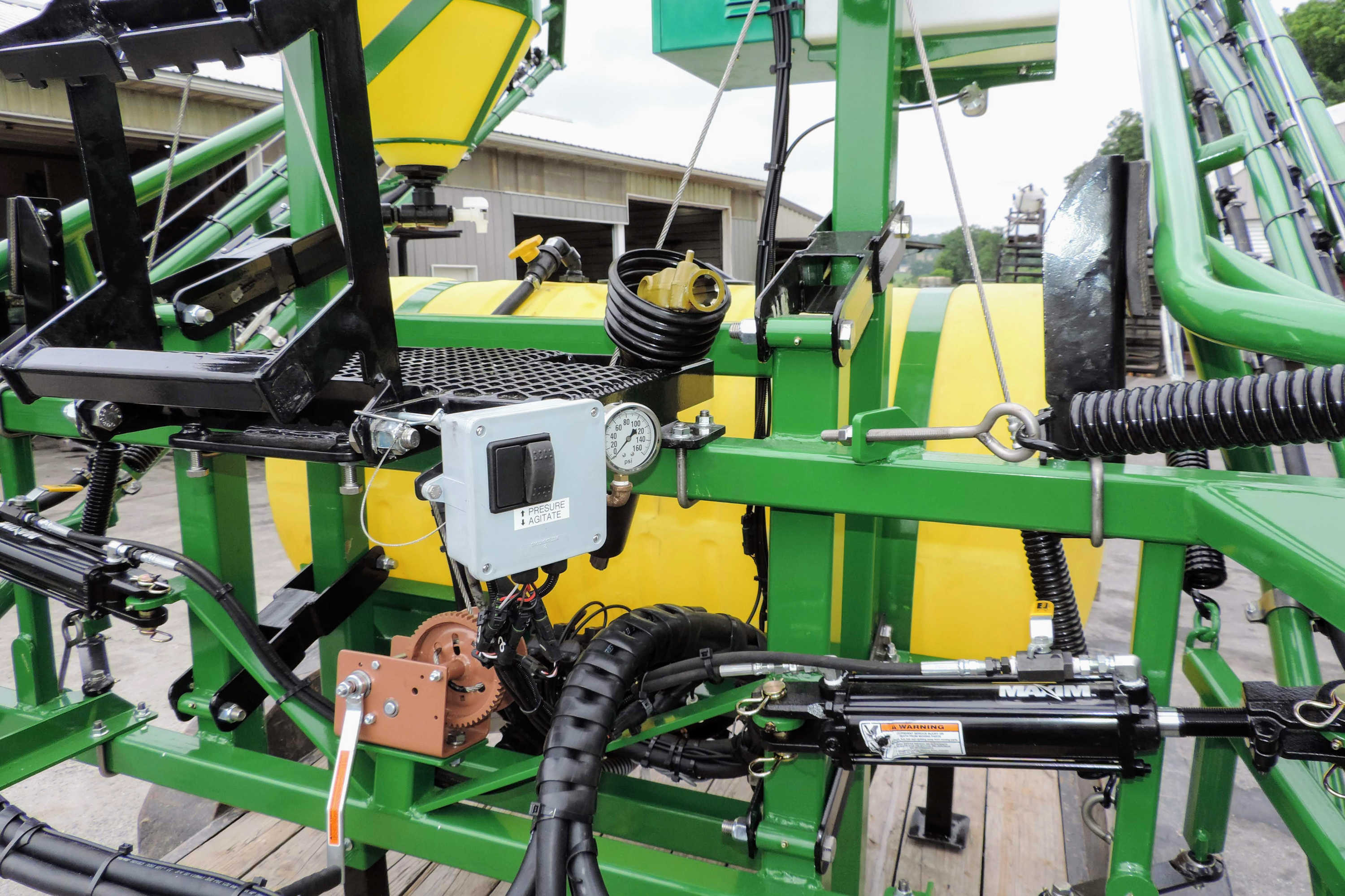 200 gallon 3-point Hitch Sprayer