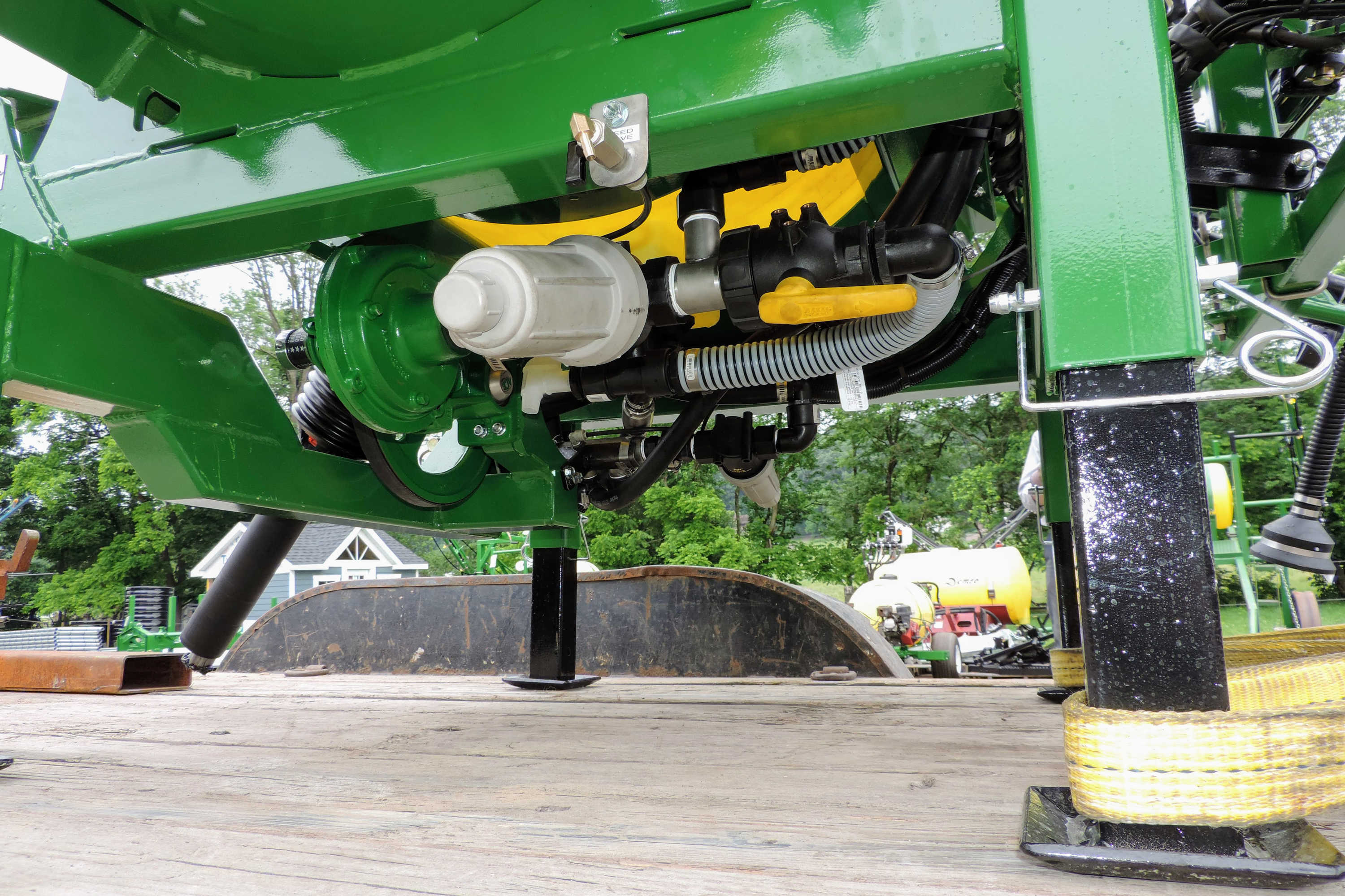 200 gallon 3-point Hitch Sprayer - filters and main shutoff valve