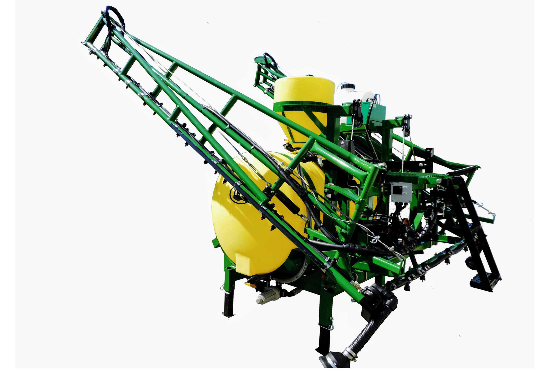 300 gallon 3-point Hitch Crop Sprayer with 45' SpringRide booms