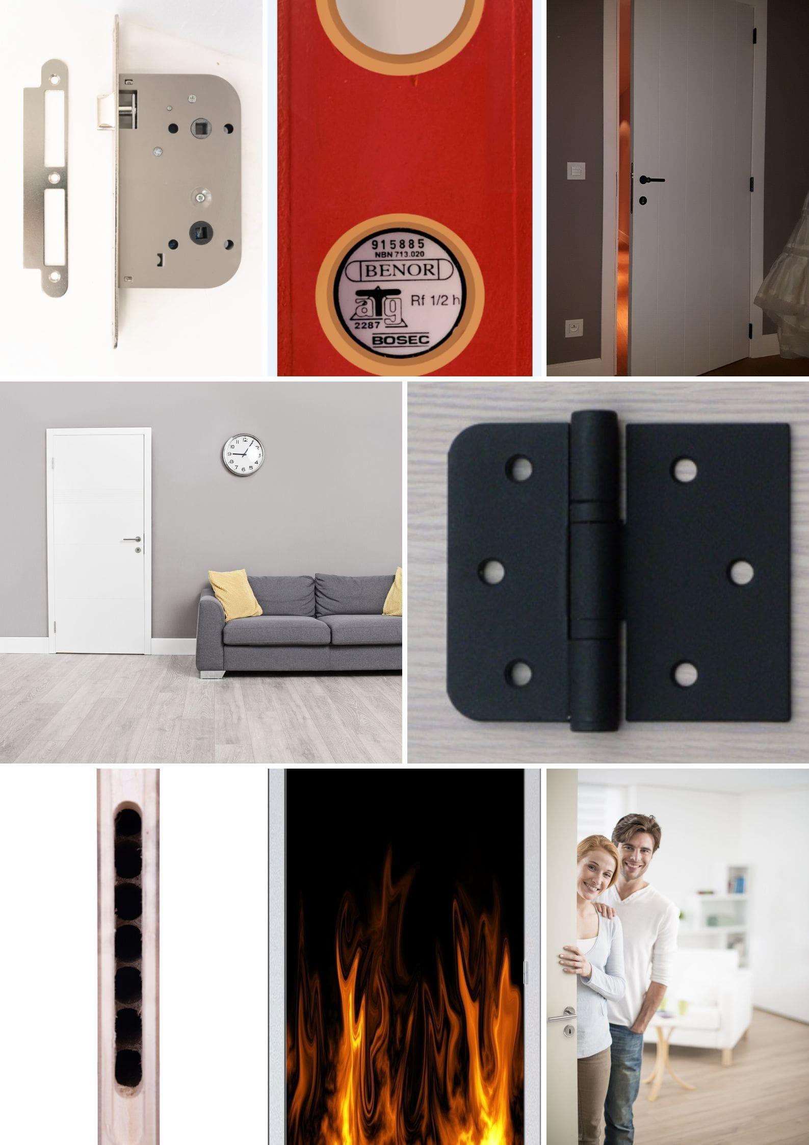 deur brandwerendheid branddeur foto