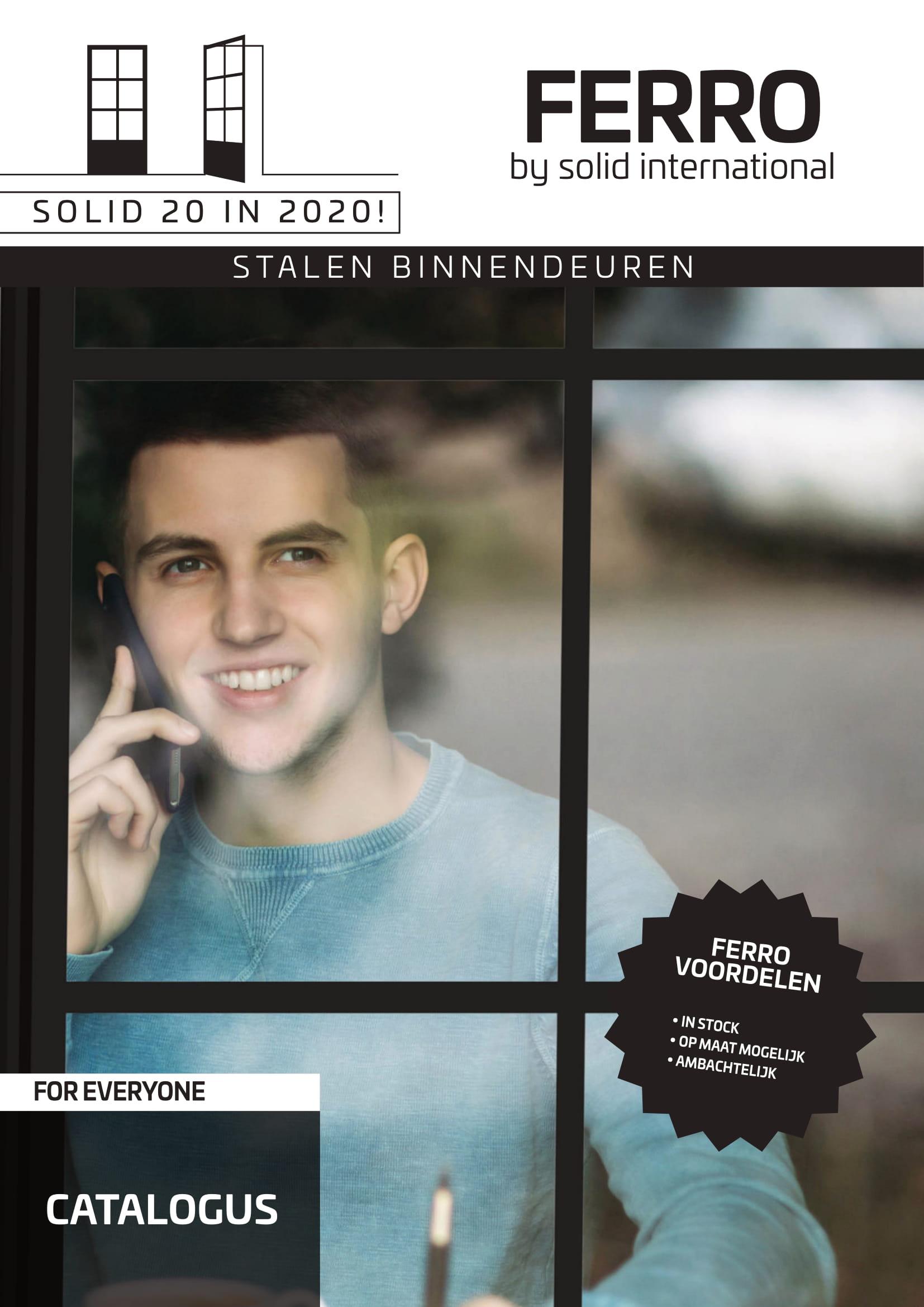 Stalen binnendeuren cover brochure