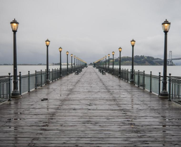 Empty San Francisco