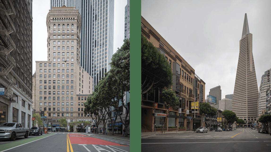 Empty San Francisco.