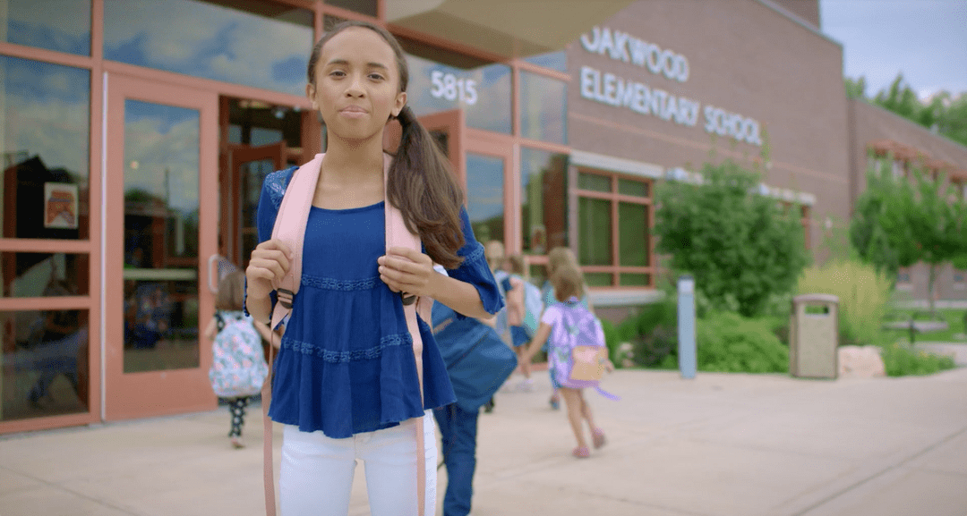 """This envision Utah spot """"I Could Be Here"""" follows a young girl in different settings of what she could be when she grows up- a doctor, a legislator."""