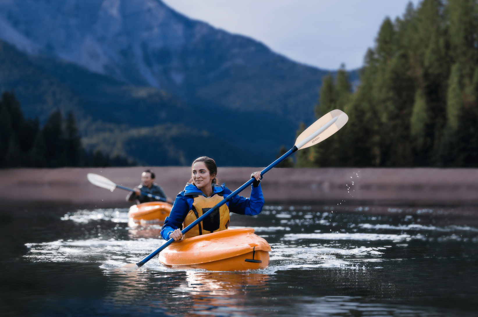 This American First Credit Union commercial features individuals reaching their goals through graduation, adventures such as kayaking and camping.