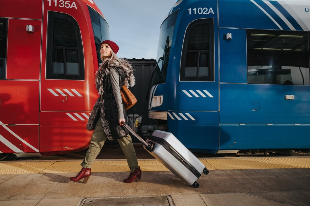 This UTA spot features quick glimpses of Salt Lake City residents using UTA transportation and traveling the city.