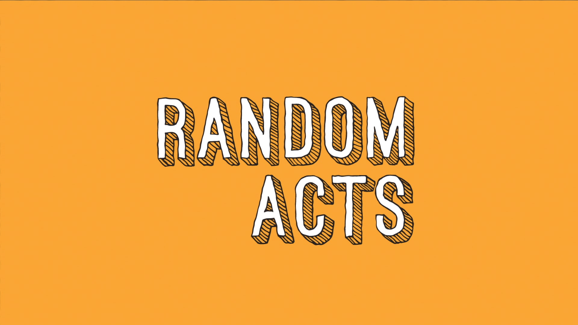 Features scenes from the BYU tv show Random Acts, which follows a  team of proficient pranksters goes undercover to make deserving people's dreams come true in Random Acts, BYUtv's original hidden camera series.
