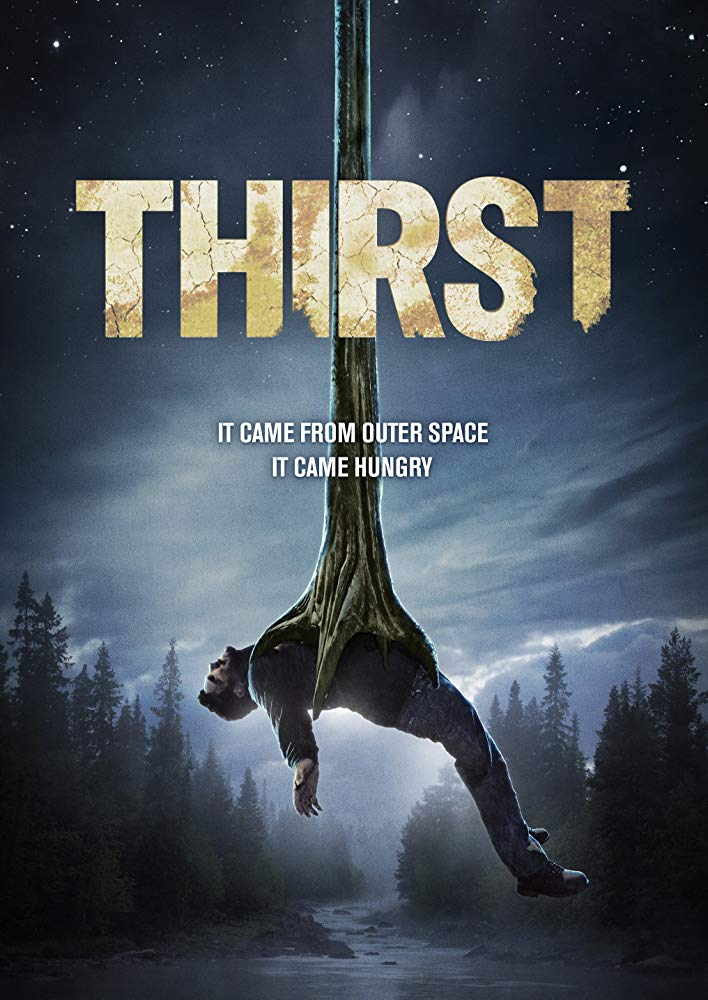 Thirst is a full-length film featuring a group of people encountering a scary creature in the dessert.