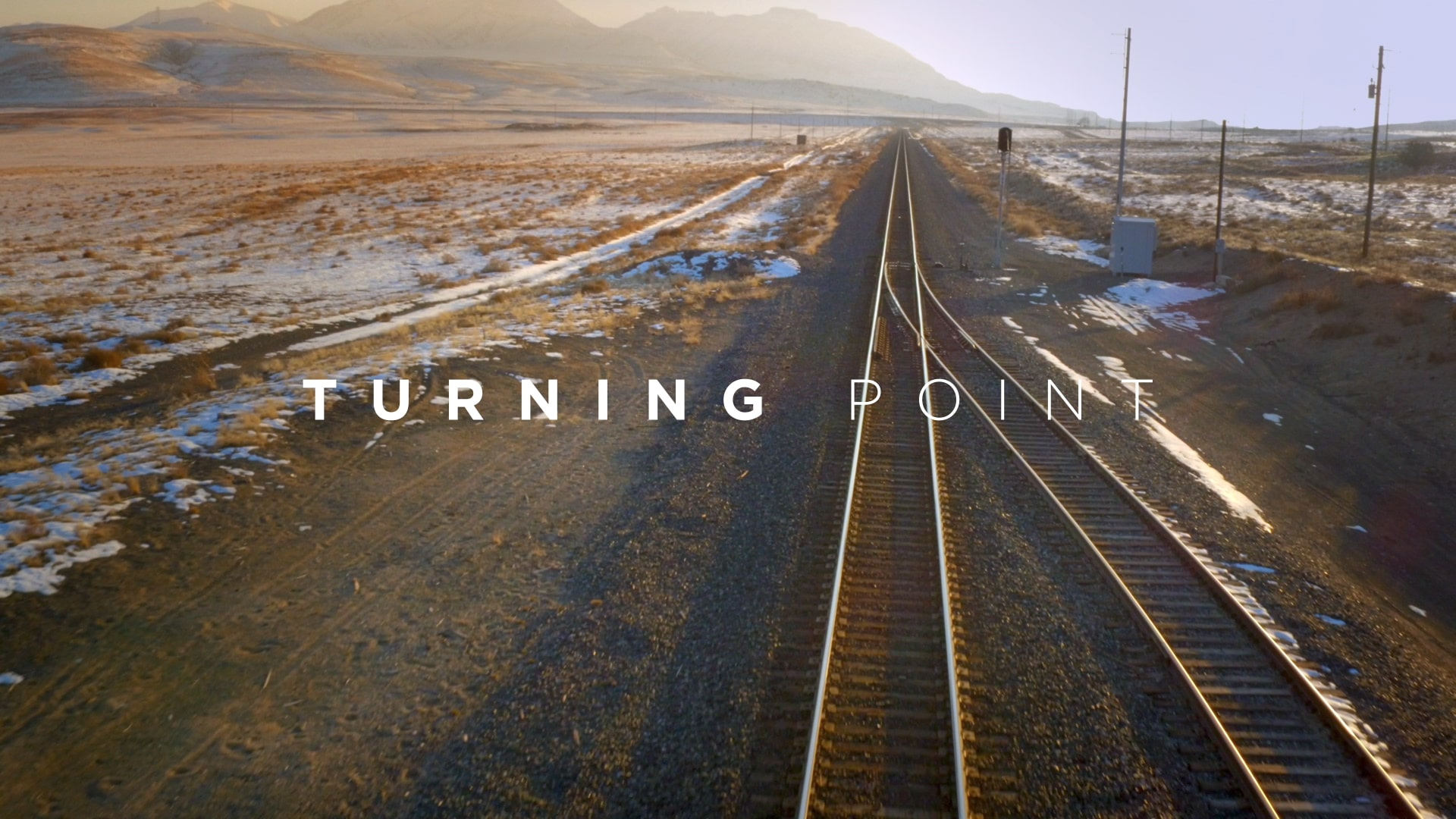 Turning Point is a collection of inspiring stories about people whose lives have changed irrevocably due to one pivotal decision.