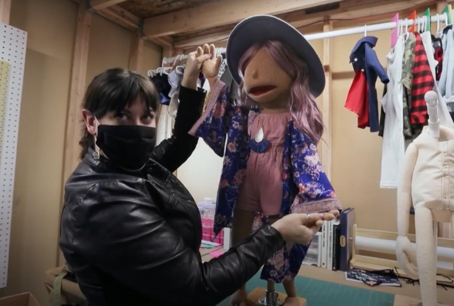 Puppet Costume design