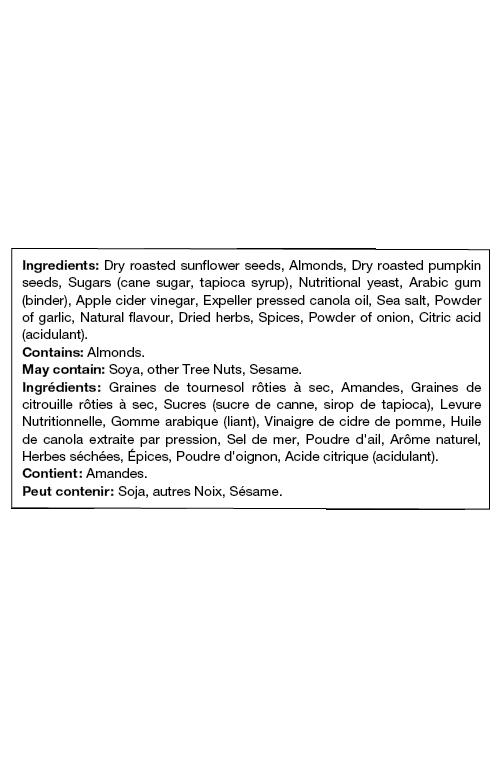Ingrédients Au-delà des croûtons César Végétalien