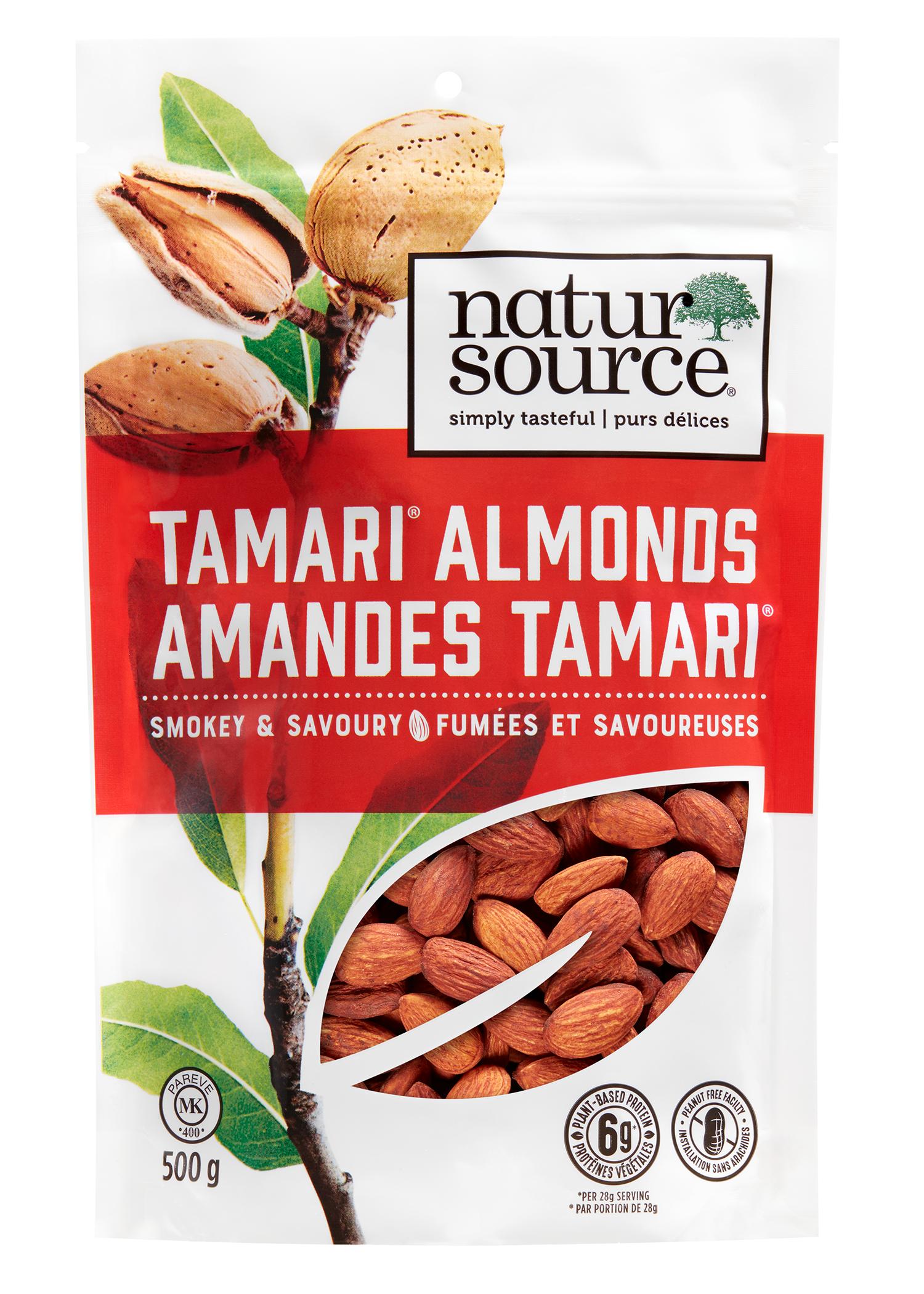 natursource smokey and savoury Tamari® Almonds