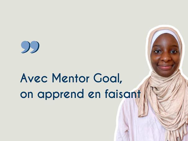 Avis et temoignage etudiante Mentor Goal - Aminata